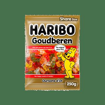 Haribo Goudberen Haribo Goudbeertjes