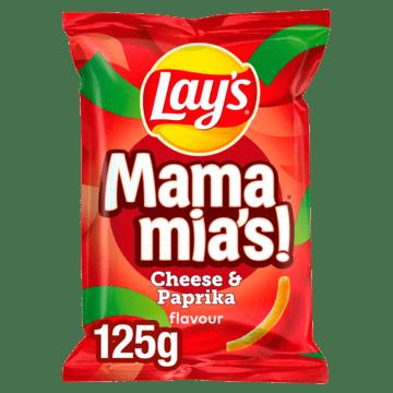 Lays Mama Mia Lay's Mama Mia's Kaas Paprika