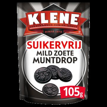 Klene Muntdrop Suikervrij Klene Coin Licorice Sugar Free