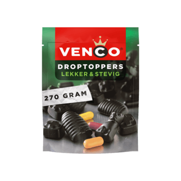 Venco Droptoppers Tasty & Strong