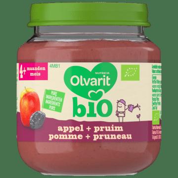 Olvarit Bio Appel pruim 4 Maanden Olvarit Bio Appel+ pruim 4+ Maanden