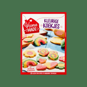 HomeMade Complete Mix voor Kleurige Koekjes HomeMade Complete Mix voor Kleurige Koekjes