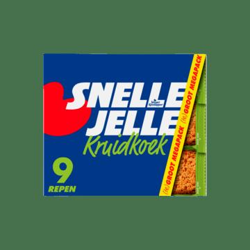Snelle Jelle Kruidkoek Naturel Mega 9 Repen