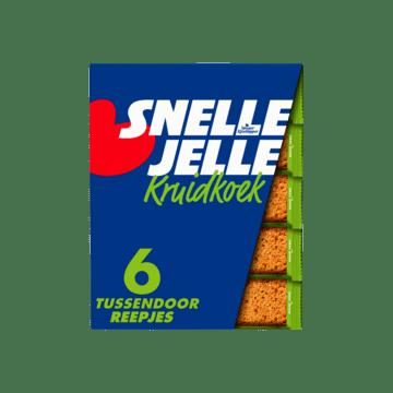 Snelle Jelle Kruidkoek Naturel Tussendoor 6 Repen