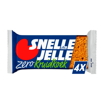Quick Jelle Gingerbread Zero 4 Bars