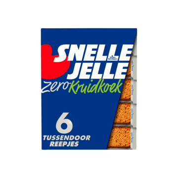 Snelle Jelle Kruidkoek Zero Tussendoor