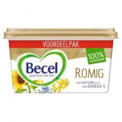 Becel Romig voor op Brood