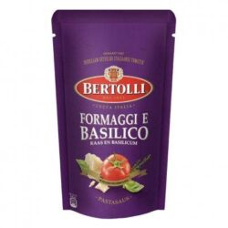 Bertolli Pastasaus in zak kaas basilicum
