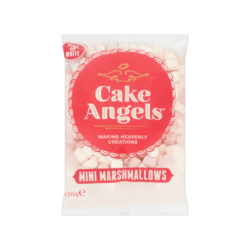 Cake Angels Mini Marshmallows Pink White