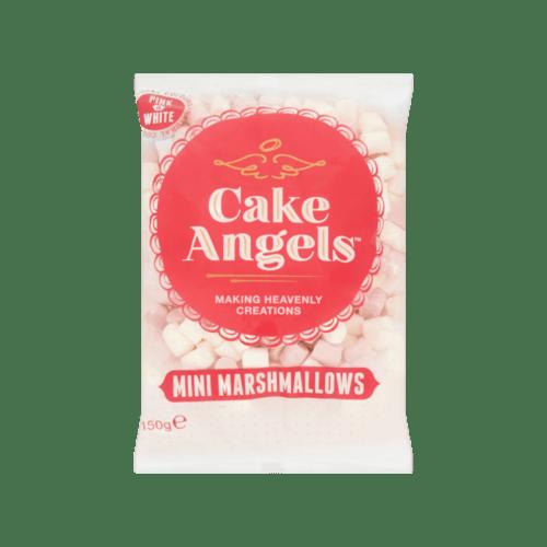 Cake Angels Mini Marshmallows Pink White