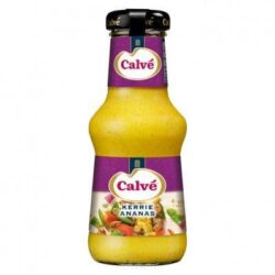 Calvé Sauce bottle of curry pineapple