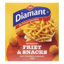 Diamant Friet snacks vast frituurvet