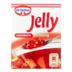 Dr. Oetker Jelly pudding aardbeien