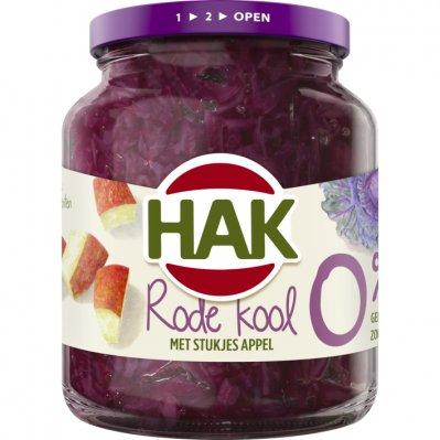 Hak Red cabbage with apple 0