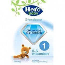 Hero Baby Standaard zuigelingenvoeding 1