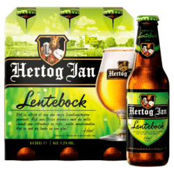 Hertog Jan Lentebock Beer Bottles