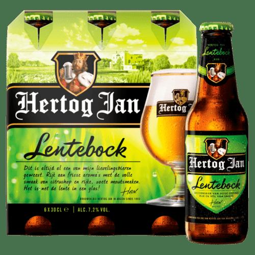 Hertog Jan Lentebock Bier Flessen
