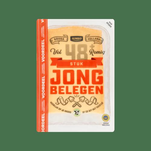 Jumbo Gouda Holland Jong Belegen Kaas 48 Stuk Voordeel