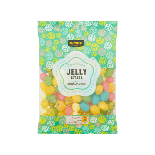 Jumbo Spring Topper Jelly Eggs with Fruit Flavor