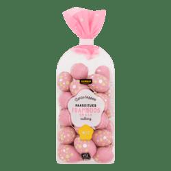 Jumbo Easter eggs Raspberry with White Filling