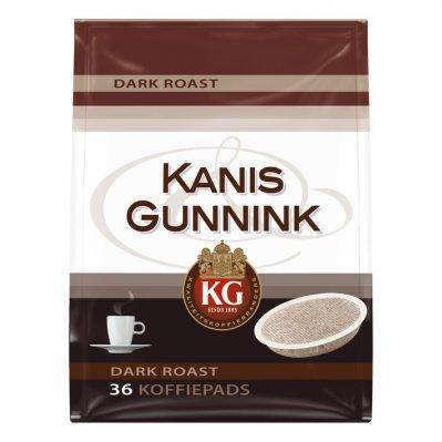 Kanis & Gunnink Dark roast coffee pods