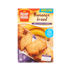 Koopmans Banana Bread with a dash of Cinnamon