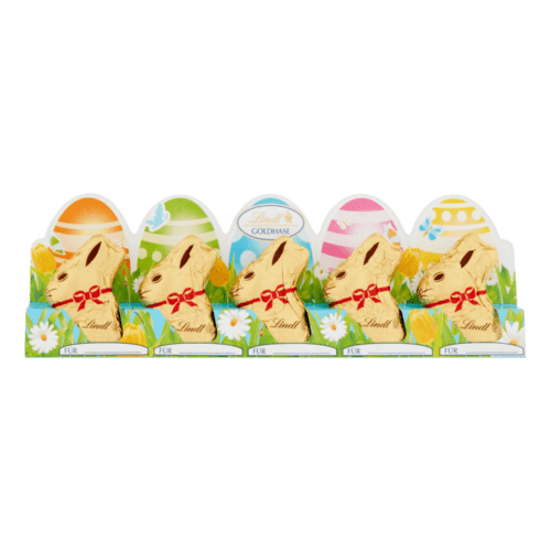 Lindt Chocolate Easter Bunnies