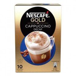 Nescafé Gold cappuccino decafé instant coffee