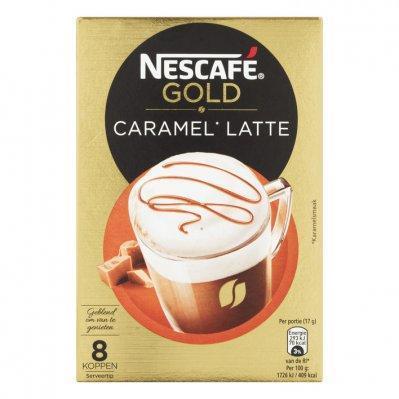 Nescafé Gold caramel latte