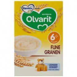 Olvarit Sunny breakfast porridge fine grains 6 months