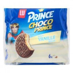 Prince Biscuits chocolate prince vanilla