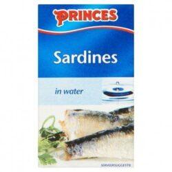 Princes Sardines in water