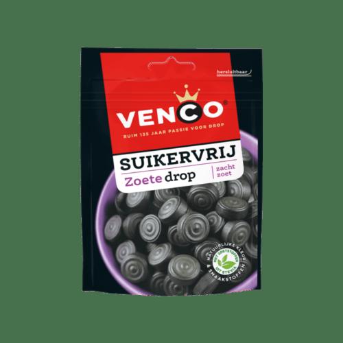 Venco Sugar free Sweet Licorice Soft Sweet