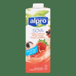 products alpro sojadrink rode vruchten
