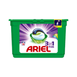 products ariel 3in1 pods colour style 16 wasbeurten