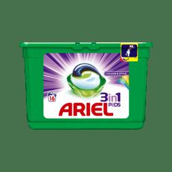 Ariel Pods Kleur Wasmiddelcapsules