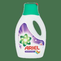 products ariel color vloeibaar wasmiddel 18 wasbeurten