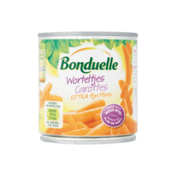 products bonduelle worteltjes extra fijn