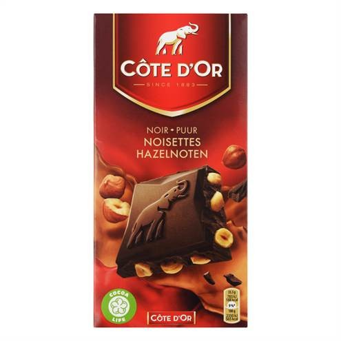 Côte d'Or Pure Chocolade Hele Hazelnoten