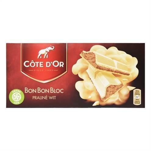 products c te d or bonbonbloc praline wit