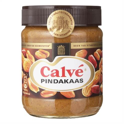 products calv pindakaas pot