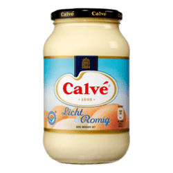 products calv saus pot mayonaise licht romig 650ml
