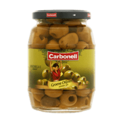 products carbonell groene olijven zonder pit