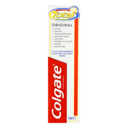 products colgate total original fluoride tandpasta