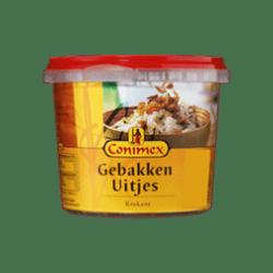 products conimex bakje gebakken uitjes