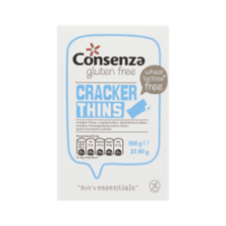 products consenza gluten free crackers dun
