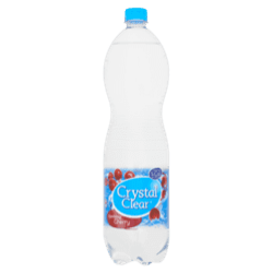 products crystal clear sparkling cherry bottle