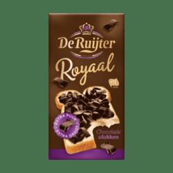 products de ruijter generously chocolate flakes