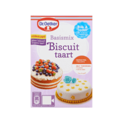 products dr. oetker basismix biscuit taart
