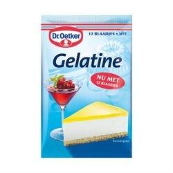 products dr. oetker bladgelatine